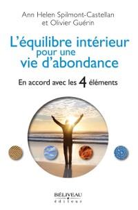 Cover L'equilibre interieur pour une vie d'abondance