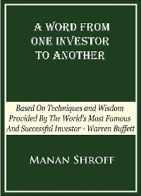 Cover A Word From One Investor To Another