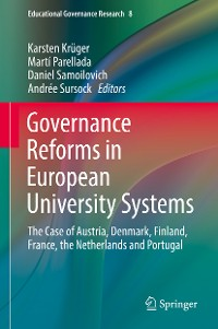 Cover Governance Reforms in European University Systems