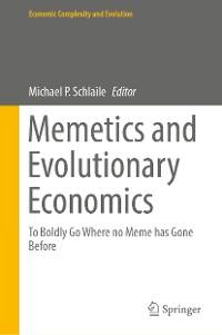 Cover Memetics and Evolutionary Economics