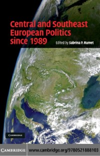 Cover Central and Southeast European Politics since 1989