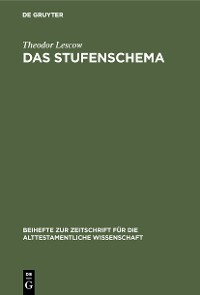 Cover Das Stufenschema