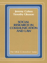 Cover Social Research in Communication and Law