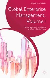 Cover Global Enterprise Management, Volume I