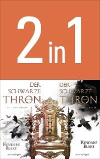 Cover Der Schwarze Thron - Die Kriegerin / Die Göttin