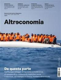 Cover Altreconomia 206 - Luglio/Agosto 2018