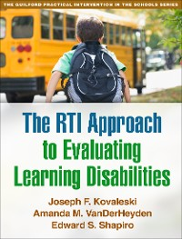 Cover The RTI Approach to Evaluating Learning Disabilities