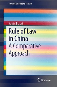 Cover Rule of Law in China