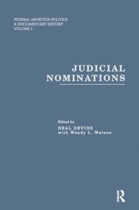 Cover Judicial Nominations