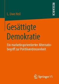 Cover Gesättigte Demokratie