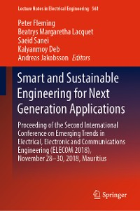 Cover Smart and Sustainable Engineering for Next Generation Applications