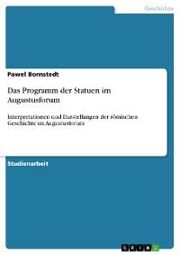 Cover Das Programm der Statuen im Augustusforum
