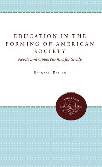 Cover Education in the Forming of American Society