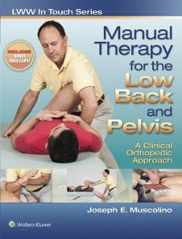 Cover Manual Therapy for the Low Back and Pelvis: A Clinical Orthopedic Approach