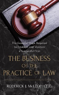 Cover The Business of the Practice of Law