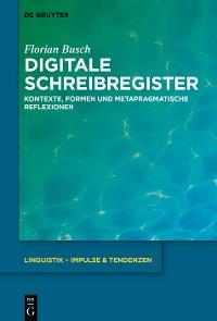 Cover Digitale Schreibregister