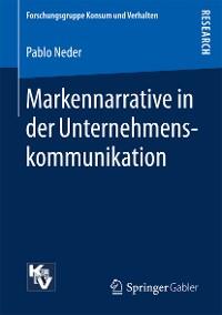 Cover Markennarrative in der Unternehmenskommunikation