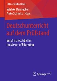 Cover Deutschunterricht auf dem Prüfstand