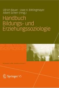 Cover Handbuch Bildungs- und Erziehungssoziologie