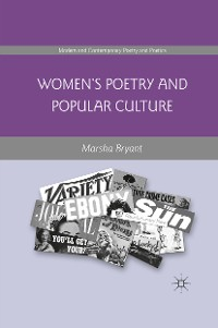 Cover Women's Poetry and Popular Culture