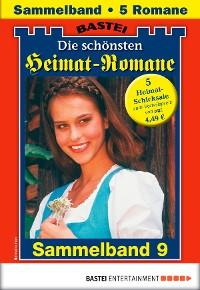 Cover Die schönsten Heimatromane 4 - Sammelband