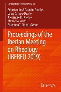 Cover Proceedings of the Iberian Meeting on Rheology (IBEREO 2019)