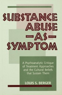 Cover Substance Abuse as Symptom