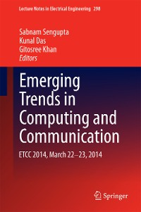 Cover Emerging Trends in Computing and Communication
