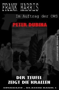 Cover Der Teufel zeigt die Krallen (Frank Harris: Im Auftrag der OWS, Band 1)