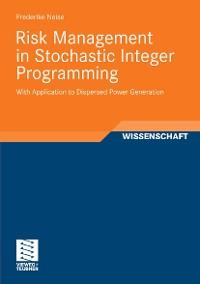 Cover Risk Management in Stochastic Integer Programming