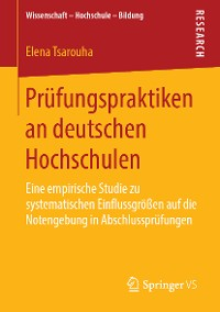 Cover Prüfungspraktiken an deutschen Hochschulen