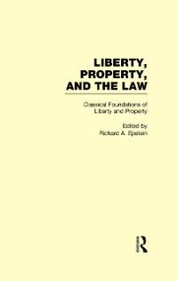 Cover Classical Foundations of Liberty and Property