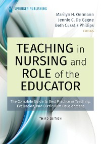 Cover Teaching in Nursing and Role of the Educator, Third Edition