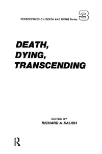 Cover Death, Dying, Transcending