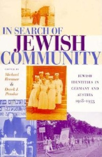 Cover In Search of Jewish Community