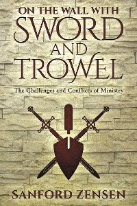 Cover On the Wall with Sword and Trowel