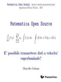 Cover È possibile trasmettere dati a velocità superluminale?