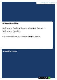 Cover Software Defect Prevention for better Software Quality