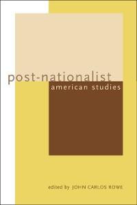 Cover Post-Nationalist American Studies