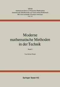 Cover Moderne Mathematische Methoden in der Technik
