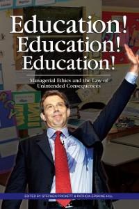 Cover Education! Education! Education!