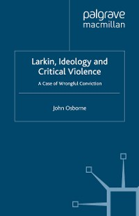 Cover Larkin, Ideology and Critical Violence