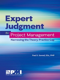 Cover Expert Judgment in Project Management