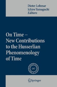 Cover On Time - New Contributions to the Husserlian Phenomenology of Time