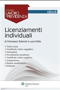 Cover Licenziamenti individuali