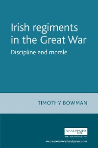 Cover The Irish regiments in the Great War