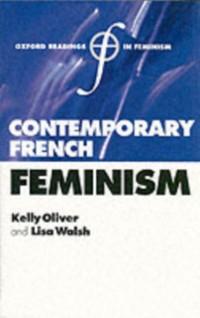 Cover Contemporary French Feminism