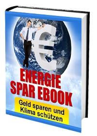 Cover ENERGIE SPAR EBOOK - Geld sparen und Klima schützen