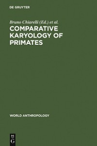 Cover Comparative Karyology of Primates