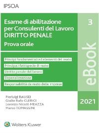 Cover Esame di abilitazione per consulenti del lavoro - diritto penale